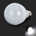 ZDM E27 7W 450lm 8500K 30-SMD 2835 LED White Light Bulb - White + Silver (220~240V)