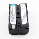 Replacement NP-F550 Batteri + Ladere til Sony CCD-RV100 / CCD-RV200 / CCD-SC Serie - Svart