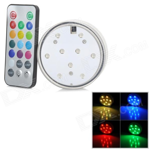 INFORMYI YFY-2013 Waterproof Remote Control Candle - Translucent White