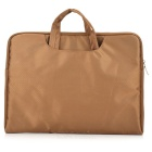 "Ultra-Slim Moda Nylon Sacola para 13.3 ""Tablet PC / Laptop - Brown"
