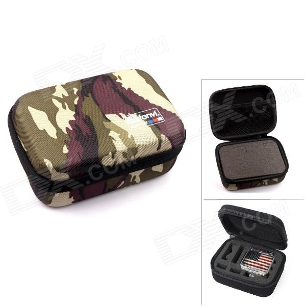 FENVI G-270 Protective Camera EVA Storage Case Bag for Gopro Hero 4/ 3+/3/2/SJ4000 - ACU Camouflage neopine travel portable camera accessories storage bag for gopro hero 2 3 3 4 red
