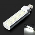 E27 12W 1200LM lumière blanche froide 52-5050 SMD LED lampe (AC 85 ~ 265V)