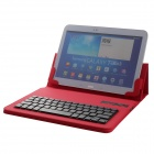 "Microsoft Detachable Bluetooth V3.0 64-key Keyboard PU Leather Case for ""9.7"" / ""10.1"" Tablet PC"