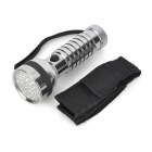 UltraFire MTT-031 420nm 41-LED 2-mode Purple Light Flashlight - Grey + Black (4 x AAA)