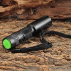 UltraFire MTT-33 Mini C3 405nm 1-LED Textured Purple Light Flashlight - Black (1 x AA)