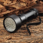 UltraFire MTT-35 400nm 51-LED 2-mode Purple Light Flashlight - Black (3 x AA)