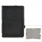 Lichee Pattern Stylish Flip Open PU Leather Case w/ Stand for 10.1'' Samsung Galaxy Tab Pro