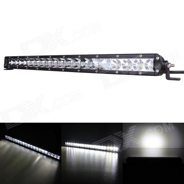 21.2 tommers 100W 9000LM 30 ° 60 ° Combo LED WorkLight Bar Off-road SUV ATV lampe (9 ~ 45V)