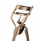 8082 High Quality 24K Stainless Steel Cosmetic Makeup Eyelash Curler - Golden