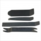 Convenient ABS Car Stereo Audio Speaker Dismantle Tools Set - Black (4 PCS)