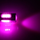 H3 7.5W 400lm 5-LED Pink Purple Light Polarity Free Car Foglight / Headlamp / Tail Light (12~24V)