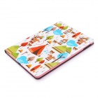 Lofter Indian Tribe Illustration PU Leather Case Cover Stand for RETINA IPAD MINI - Multicolored