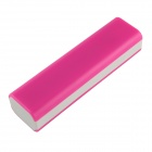 DIY Assembly 18650 Battery Power Bank Holder - Pink + White