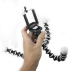 10 polegadas 2-in-1 Multi-Function Octopus Estilo Tripé para Celular / Camera - Black + White