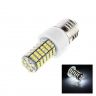 E27 5W 210lm 6000K 120 x SMD 3528 LED White Light Corn Lamp Bulb - (AC 220~240V)