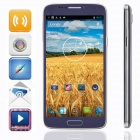 "KICCY H8 MTK6592 Octa-Core Android 4.2 WCDMA Bar Phone w/ 6"" FHD, 16GB ROM, GPS, OTG, 13MP - Black"