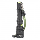 UltraFire LED 5-Mode 500LM Zoom-to-throw Flashlight - Black (1 x 18650)