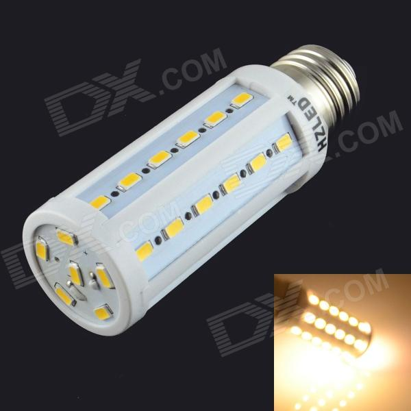 HZLED E27 9W 900lm 3000K 42 x SMD 5630 LED Warm Light Corn Light - (AC 220~240V)