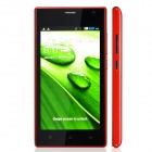 "A1520 Capacitive Touch Screen Android 4.2 Bar Phone w/ 4.5"" / Bluetooth / Dual Camera - Red"
