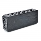 Stylish Water Cube Style Bluetooth V2.1 Bass Speaker w/ Handsfree Call - Black
