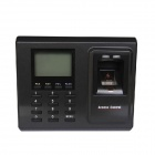 ZKsoftware F2 Fingerprint Attendance Time Clock Time Recorder F2 Fingerprint Access Control - Black
