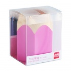 Plastic Pencil Style Pen Holder - Pink