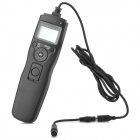 08 1.2'' LCD Digital Timer Remote Control for Olympus - Black (2 x AAA)