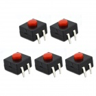 MaiTech 12 x 12 x 9.5mm Tact Switches - Черный (5PCS)