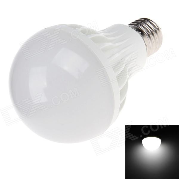 E27 9W 6500K 1000-1100lm 20 x SMD 5730 LED White Light Energy-saving Lamp Bulb - White (AC 220V) lexing lx r7s 2 5w 410lm 7000k 12 5730 smd white light project lamp beige silver ac 85 265v