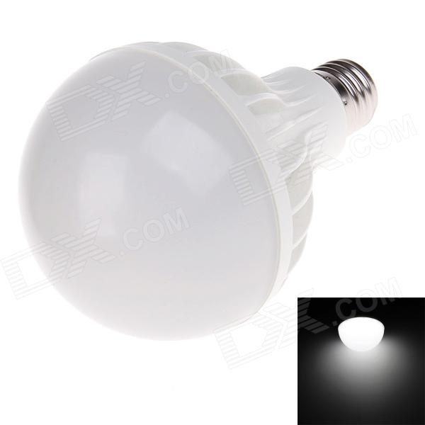 E27 12W 6500K 1200-1320lm 24 x SMD 5730 LED White Light Energy-saving Lamp Bulb - White (AC 220V) smart bulb e27 7w led bulb energy saving lamp color changeable smart bulb led lighting for iphone android home bedroom lighitng