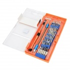 Jakemy JM-P01 Pro Tech Base Tool Repairing Set - Blue + Silver