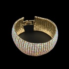 Fashion Diamond-encrusted Bracelet - Gold