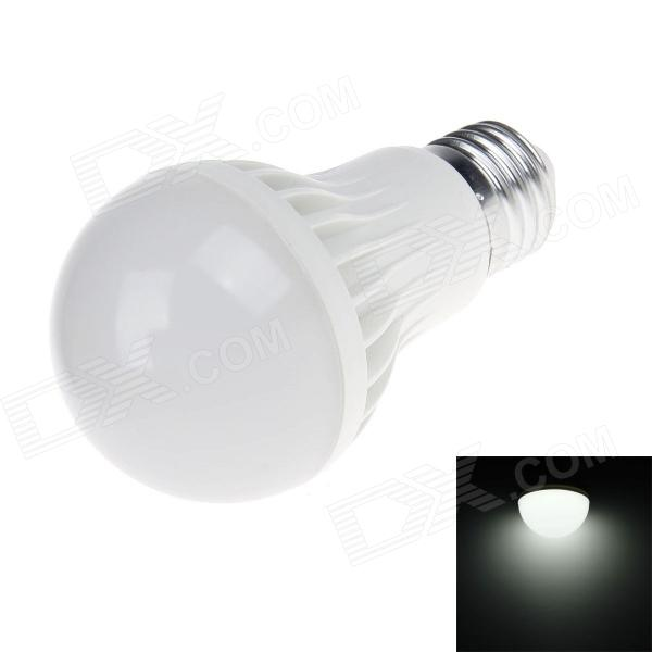 E27 5W 6500K 378-396lm 18 x SMD 2538 LED White Light Energy-saving Lamp Bulb - White (AC 220V) - DXE27<br>Efficientsecurityenergy saving. -Long time up to 20000 hours; -Save 80% energy; -Installing or changing the lampstandplease severing the electrical; -Application: Retail residential industrial hotel school office place of entertainment.<br>