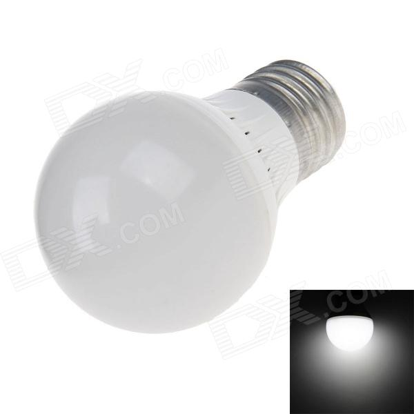 E27 3W 6500K 210-220lm 10 x SMD 2538 LED White Light Energy-saving Lamp Bulb - White (AC 220V)