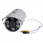 "FU96 1.3MP 1/3"" CCD Waterproof CCTV Surveillance Camera - White"