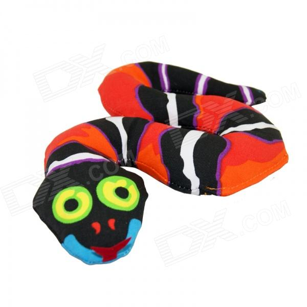 easy-cat-creative-forest-snake-dog-cat-toy-w-bb-sound-ball-red-black-white
