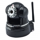 VESKYS V62W 720P 1.0 MP HD Wireless PTZ IP Network Camera w/ Wi-Fi / 11-IR LED / TF / Mic - Black