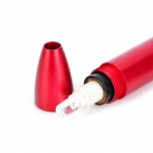 Pratique stylo mini stylo blanc lampe de poche LED - rouge (1 x AAA)