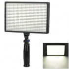 LED-540A Professional 32W 3500lm 3200~5500K Vedio Light - Black (6~9V)