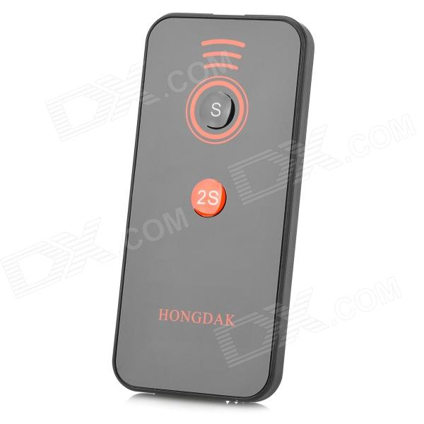 HONGDAK 2S Camera IR Remote Controller for Sony - Black (1 x CR2025)