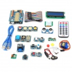 Maker Studio AK0000320M Electronic Bricks Study Kit for Arduino UNO R3 - Multicolored
