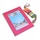 "Novelty 6"" Paper Hanging Photo Frames Set - Multicolored (8 PCS)"