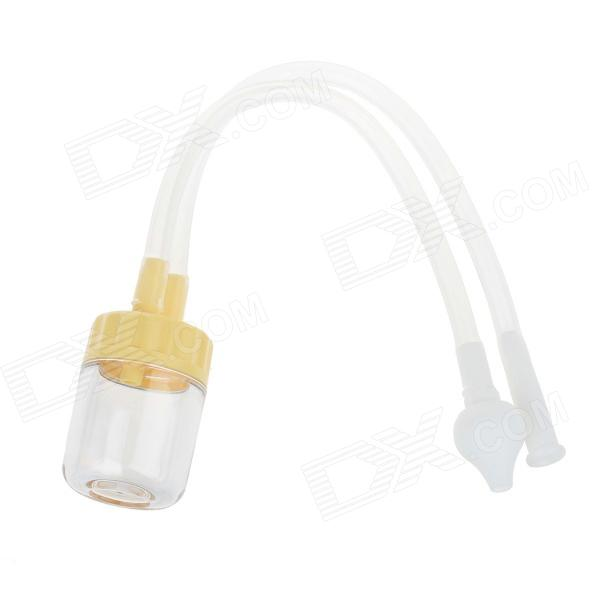 Baby Anti Reflux Nasal Suction Device Nasal Aspirator - Yellow + White + Transparent
