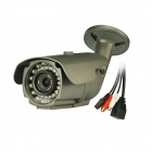 IPCC-B13 720P Megapixel P2P IR-Cut Onvif Waterproof Outdoor IP Bullet Camera - Gray