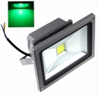 ZHISHUNJIA 20W 1600lm LED Green Light Projection Advertising Photography Lamp - Grey (85-265V)