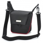 oem F2600-BK Universal Nylon Camera Bag w/ Shoulder Strap - Black