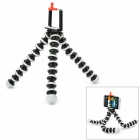 Flexible Desktop Octopus Tripod for Cameras / Mobile Phone - Black + White