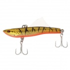 SHIHUN 5821 L8 70mm/14g Fishing Lure with 2 VMC Hooks - Golden tiger stripes