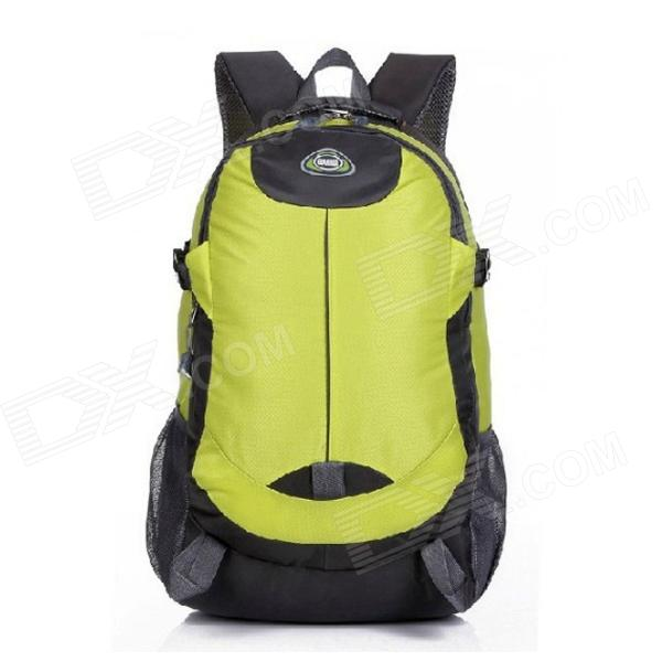 Fashionable Outdoor Sports Nylon Bag Backpack - Green