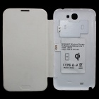 FULANKA Wireless Charging Back Cover Wireless Receiver for Samsung Galaxy Note 2 N7100 - White